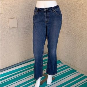 Levi Strauss Stretch Low Rise Bootcut Jeans